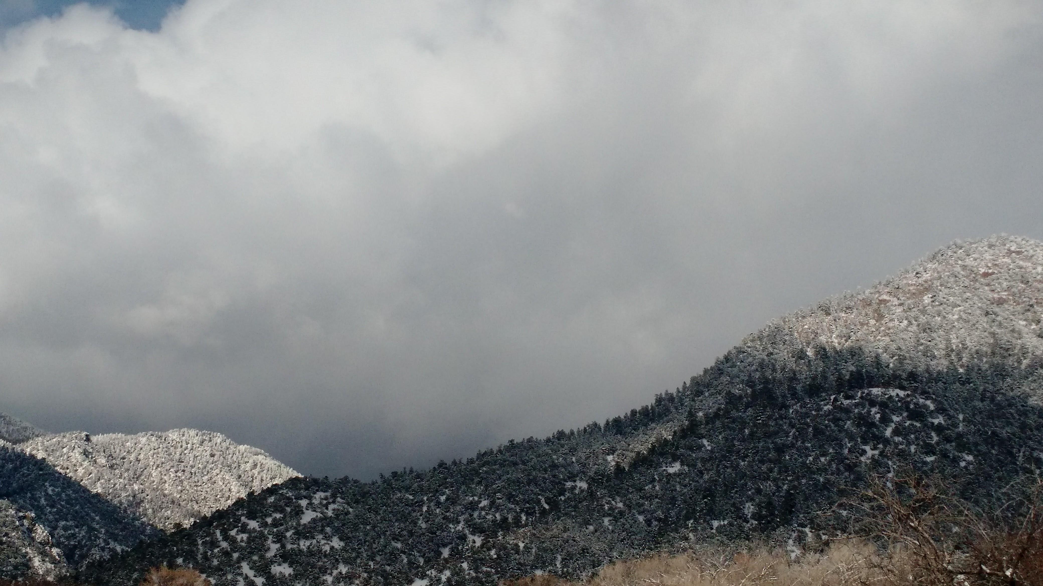 El Salto hills deep winter 2016